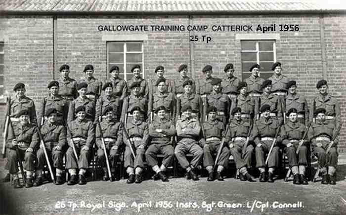 25 Tp Wiiliamson squad Catterick