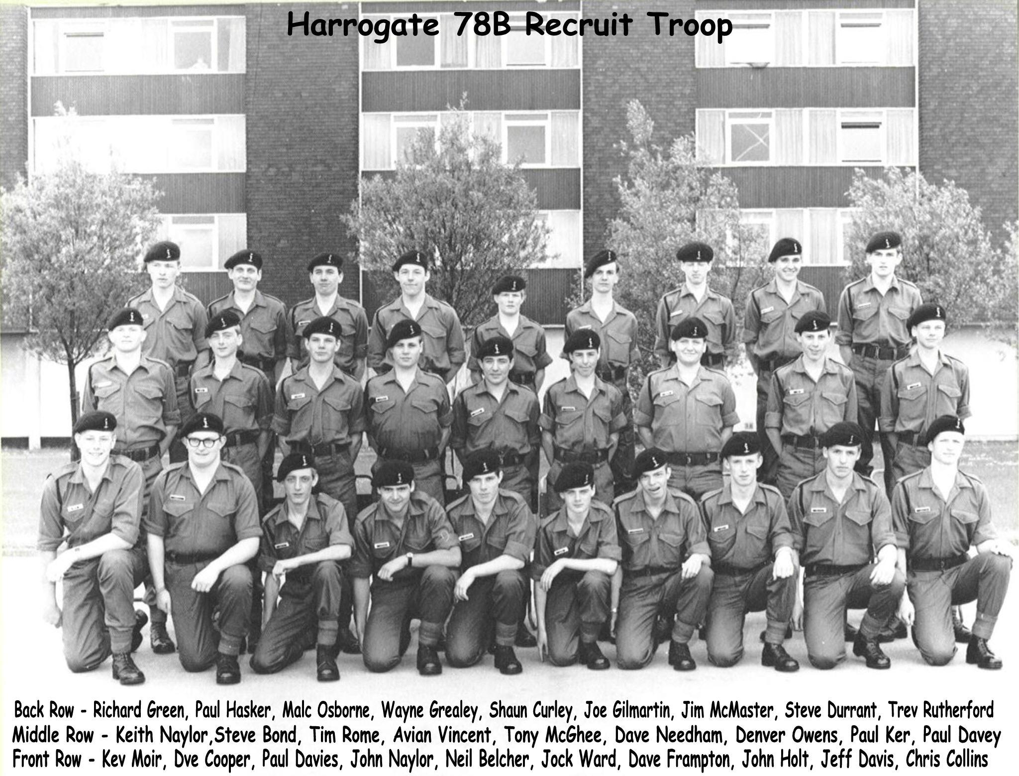 78b recruits