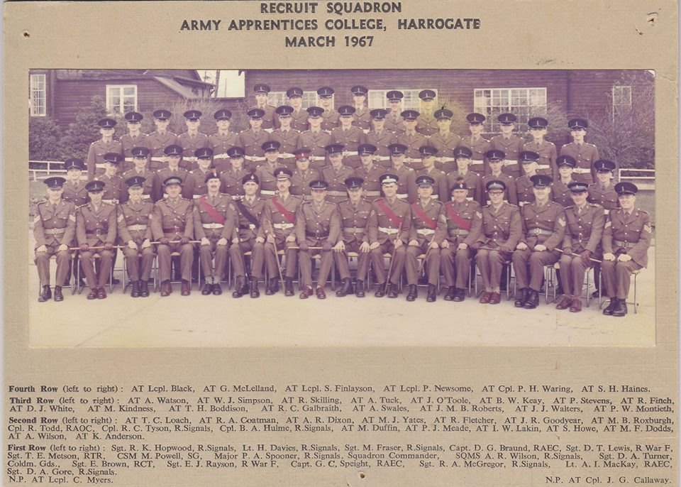 Recruit Sqn - March 1967