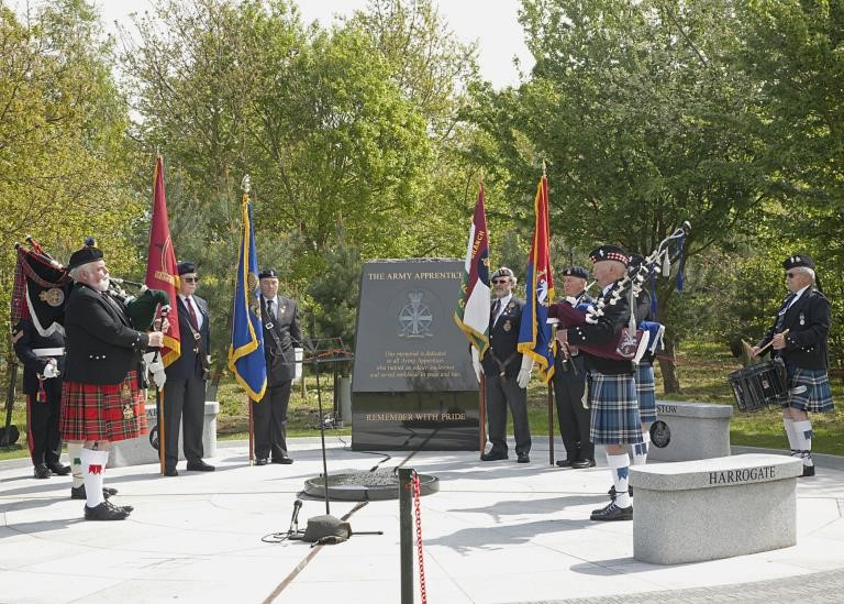 Annual Service of Remembrance & Dedication at the Army Apprentices National Memorial
