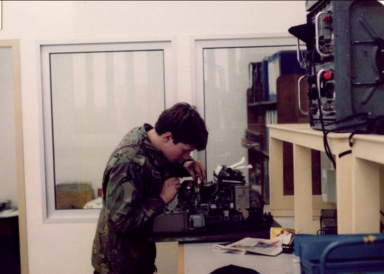 me 4sqn 22 signal regiment Lippstadt Germany Dec 1982