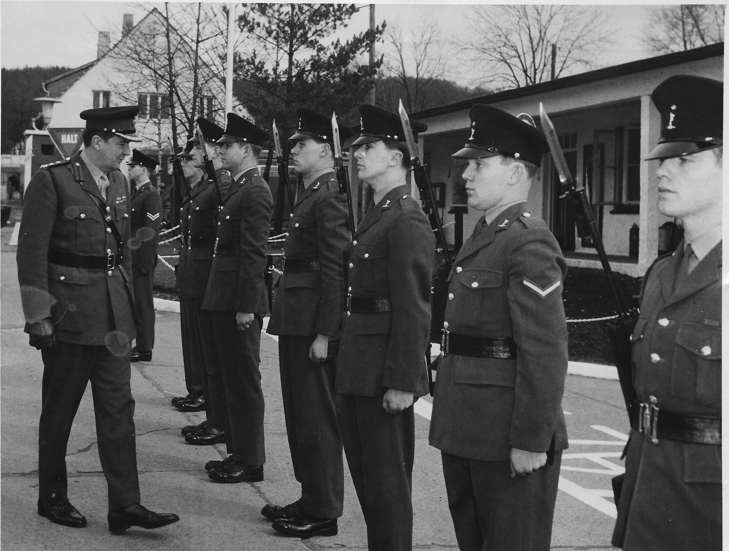 Quarter Guard 7 Sig Regt 68 or 9
