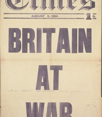 The Times Britain at war